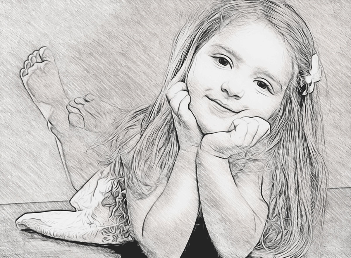Realistic Pencil Sketch Photo Effect Pencil Sketch And Drawing Effect Your Photo For $5 - Seoclerks  - Drawing Figure